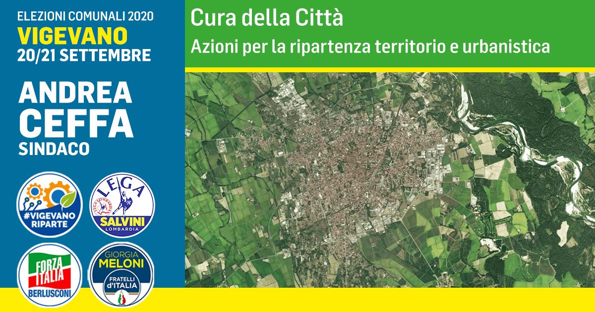 Azioni per la ripartenza territorio e urbanistica